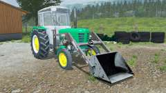 Ursus C-4011 with front loader for Farming Simulator 2013