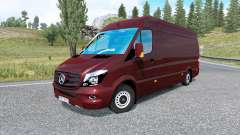 Mercedes-Benz Sprinter 315 CDI LWB 2015 v1.8.2 for Euro Truck Simulator 2