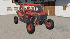 Polaris RZR XP 4 1000 Turbo for Farming Simulator 2017