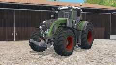 Fendt 933 Vario chalet green for Farming Simulator 2015