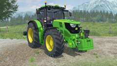 John Deere 6150R dynamic exhaust for Farming Simulator 2013