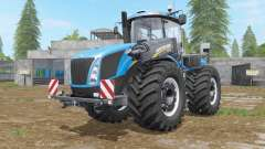 New Holland T9-series with drilling tires for Farming Simulator 2017