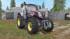 New Holland T8.435 front loader option for Farming Simulator 2017