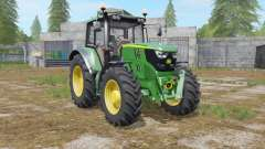 John Deere 6M-series full washable for Farming Simulator 2017
