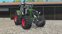 Fendt 828 Vario moveable rear attacheɽ for Farming Simulator 2015
