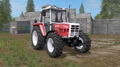Steyr 8090A Turbo carmine pink for Farming Simulator 2017