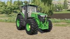 John Deere 7R-series tires little bigger for Farming Simulator 2017