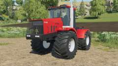 Kirovets K-744R3 in a bright red color for Farming Simulator 2017