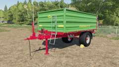 Strautmann SEK 802 with rear hose connections for Farming Simulator 2017