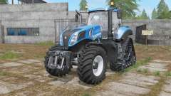 New Holland T8-series wheels options for Farming Simulator 2017