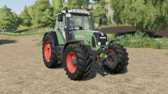 Fendt 820 Vario TMS fully washable for Farming Simulator 2017