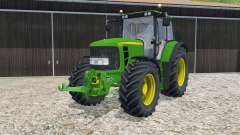 John Deere 6830 Premium animated hydraulic for Farming Simulator 2015