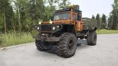 ZVM-39082 Siver 4x4 for MudRunner