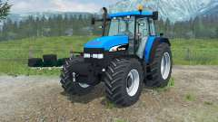 New Holland TM 190 manual ignition for Farming Simulator 2013