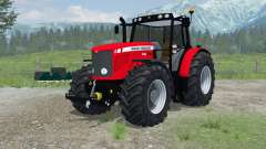 Massey Ferguson 6480 More Realistic for Farming Simulator 2013