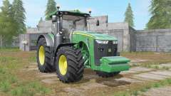 John Deere 8R-series revamped dirt textures for Farming Simulator 2017