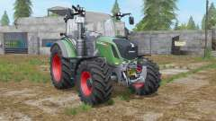 Fendt 300 Vario sea green for Farming Simulator 2017