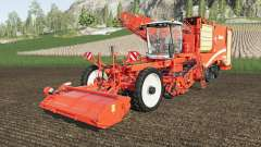 Grimme Varitron 470 working speed 25 km-h for Farming Simulator 2017