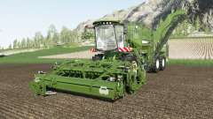Holmer Terra Dos & Terra Felis color selection for Farming Simulator 2017