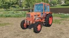 MTZ-82 Belarus light orange for Farming Simulator 2017