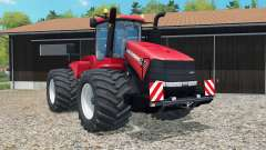 Case IH Steiger 500 light brilliant red for Farming Simulator 2015