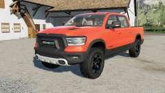 Ram 1500 resized the truck for Farming Simulator 2017