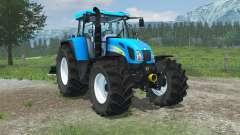 New Holland T7550 FL console for Farming Simulator 2013