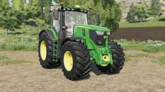 John Deere 6R-series new controls panel for Farming Simulator 2017