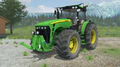 John Deere 8530 suspension axis wheel steering for Farming Simulator 2013
