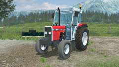 Massey Ferguson 390 added front counterweight for Farming Simulator 2013