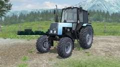 MTZ-Belarus 1025 with PKU-0.8 for Farming Simulator 2013