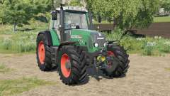 Fendt 800 Vario TMS hose system installed for Farming Simulator 2017