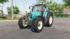 Fendt 800 Vario TMS bright turquoise for Farming Simulator 2017