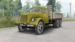 GAZ-51 elongated triaxial for Spin Tires