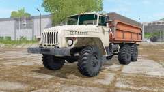 Ural-5557 with three variants of the body for Farming Simulator 2017