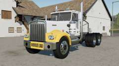 Kenworth W900A Day Cab 1974 oversize load for Farming Simulator 2017
