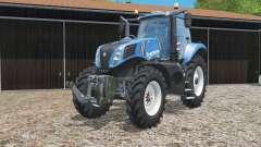 New Holland T8.320 narrow wheels for Farming Simulator 2015