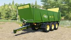 ZDT MC 186 forest green for Farming Simulator 2017