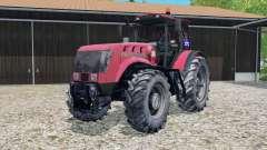MTZ-3022ДЦ.1 Belarus a realistic wheel marks for Farming Simulator 2015