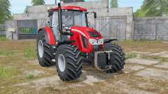 Zetor Forterra 150 HD light brilliant red for Farming Simulator 2017