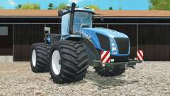 New Holland T9.565 with change tires for Farming Simulator 2015