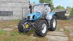 New Holland T6.140&T6.160 for Farming Simulator 2017