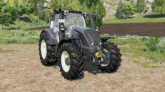 Valtra N-series added number plate for Farming Simulator 2017
