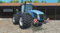 New Holland T9.565 wider tires for Farming Simulator 2015