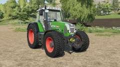 Fendt 818 Vario TMS north texas green for Farming Simulator 2017