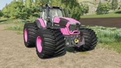 Deutz-Fahr Serie 9 TTV Agrotron color changeable for Farming Simulator 2017