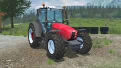 Same Explorer³ 105 sizzling red for Farming Simulator 2013