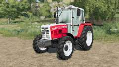 Steyr 8090A Turbo purchasable front weights for Farming Simulator 2017