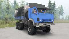 KamAZ-4310 bright blue for Spin Tires