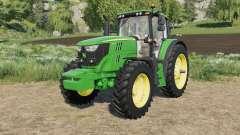 John Deere 6M-series bootloader configuration for Farming Simulator 2017